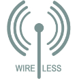 wireless logo 116